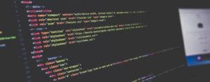web coding image